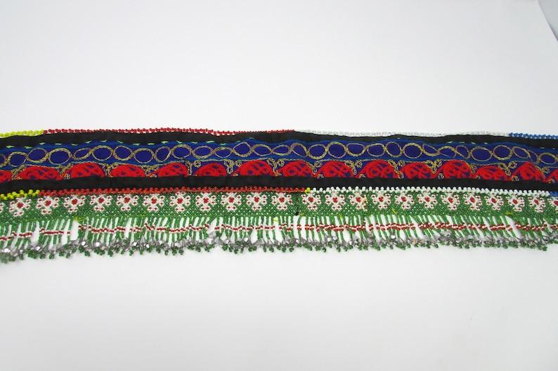 Egyptian Goddess Beaded Belt