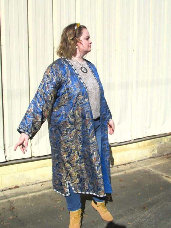 Boho Silk Robe