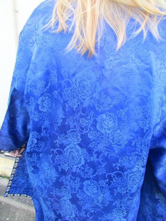 Vintage Silk Robe - image 5