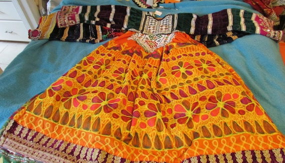 Kuchi embroidered Dress