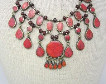 Kuchi Tribal Bibb Necklace