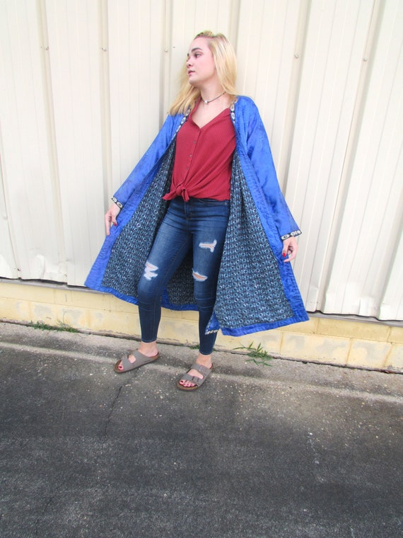 Vintage Silk Robe - image 6