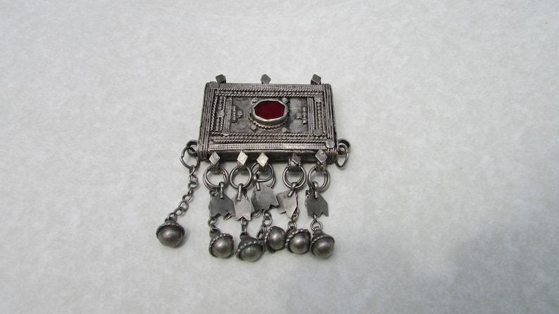 Sale Yemen Silver Prayer Box Amulet Pendant
