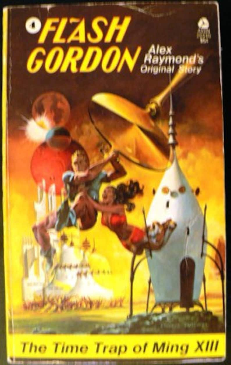 vintage paperback ... FLASH GORDON by Alex RAYMOND  ... image 0