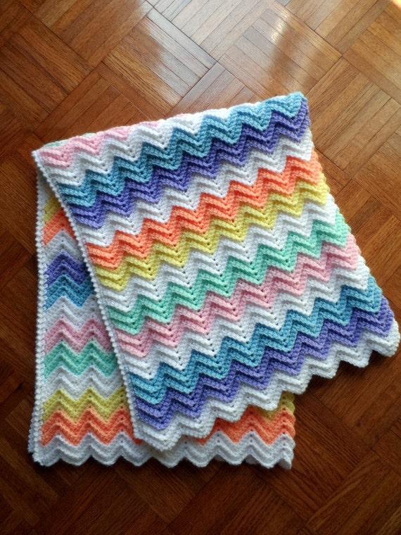 Crochet Baby Blanket Pattern Crochet Baby Afghan Pattern Etsy