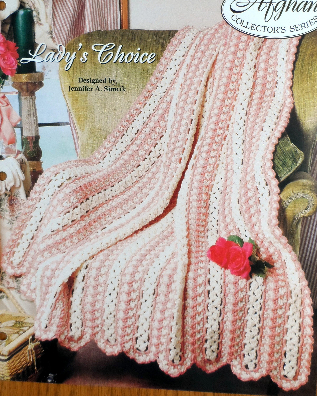 Crochet Afghan Pattern Large Throw Blanket Pattern Etsy