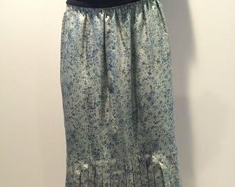 100% silk Adrian Avery mermaid skirt