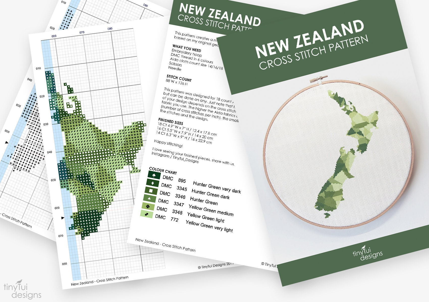New Zealand Map Pdf.New Zealand Map Cross Stitch Pattern Kiwi Cross Stitch Pdf Instant