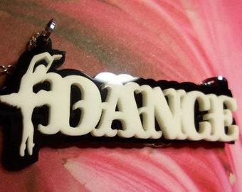 Ballerina charms,Ballerina necklace,Dance charms, laser cut necklace, Ballet necklace,Ballet charms