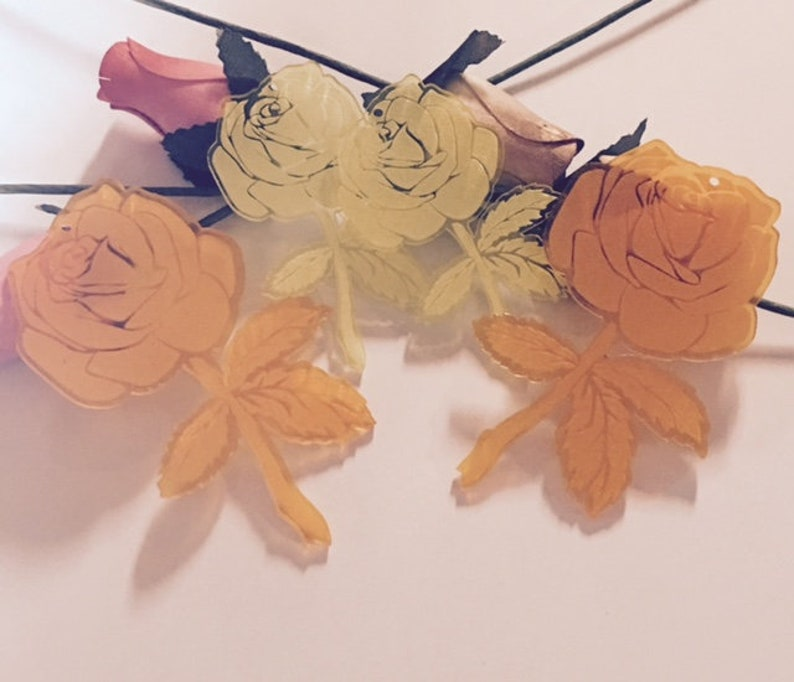 laser cut roses,Laser cut flowers,yellow roses rose charms pink roses Roses rose sun catcher,purple roses