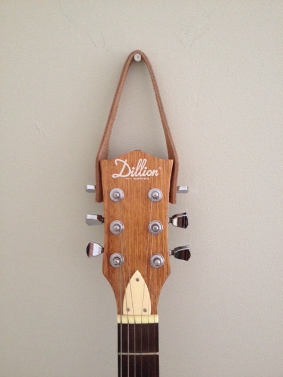 Guitar Hanger Ukulele Hanger Leather Etsy