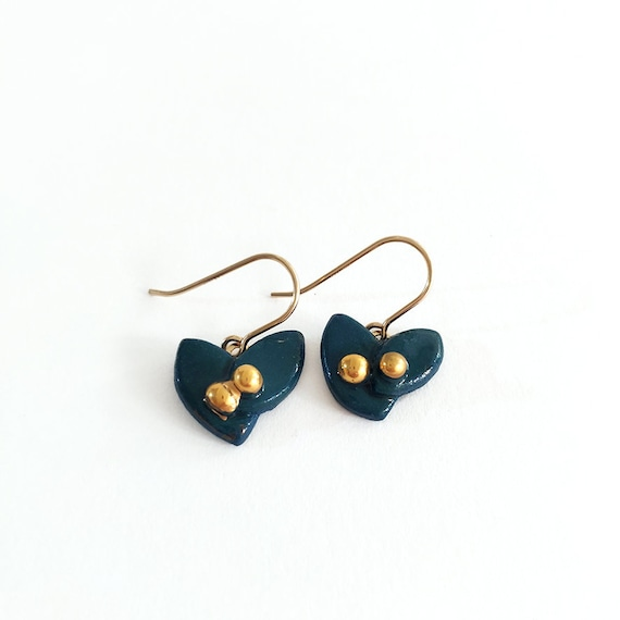 Mistletoe earrings, different colors avaible