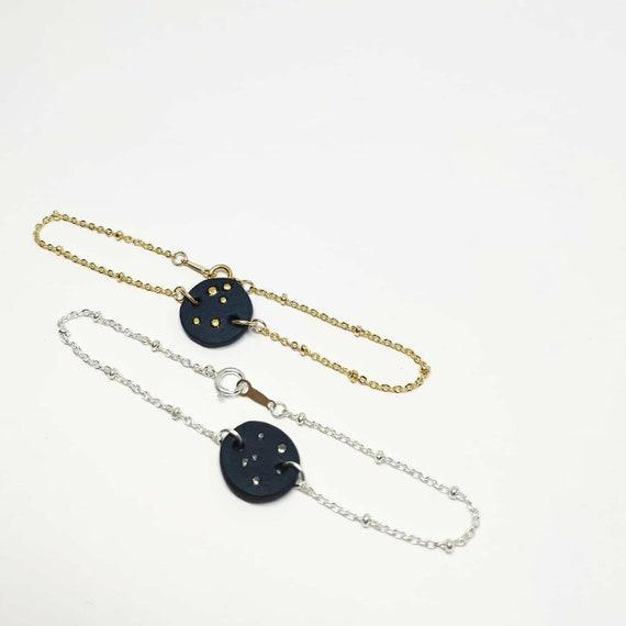 Céleste bracelet - gold plated or silver