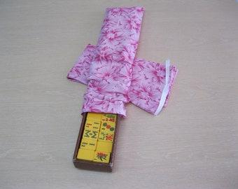 Mahjong tile tray covers/sleeves