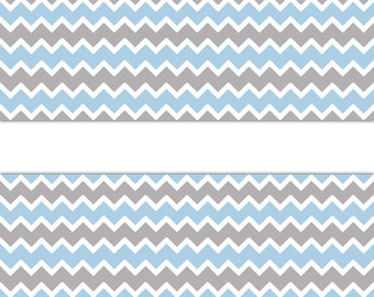 Chevron Wall Border Etsy
