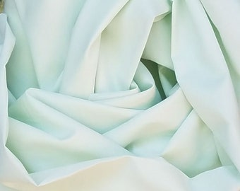 Imperial batiste cotton fabric, soft mint green, great for smocking and heirloom sewing and doll clothes, heirloom fabric