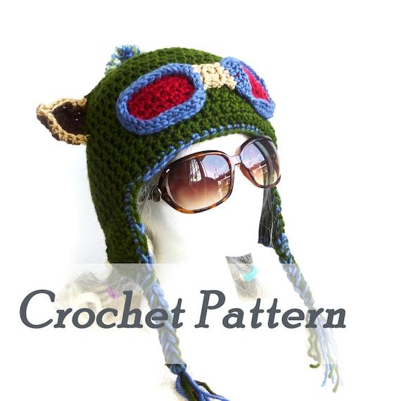 Crochet Pattern Instant Download Teemo hat Earflap hat League | Etsy