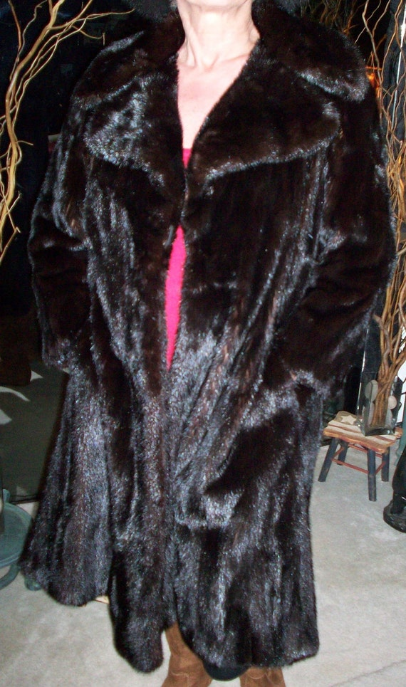 MINK COAT real fur top quality REDUCED - image 2