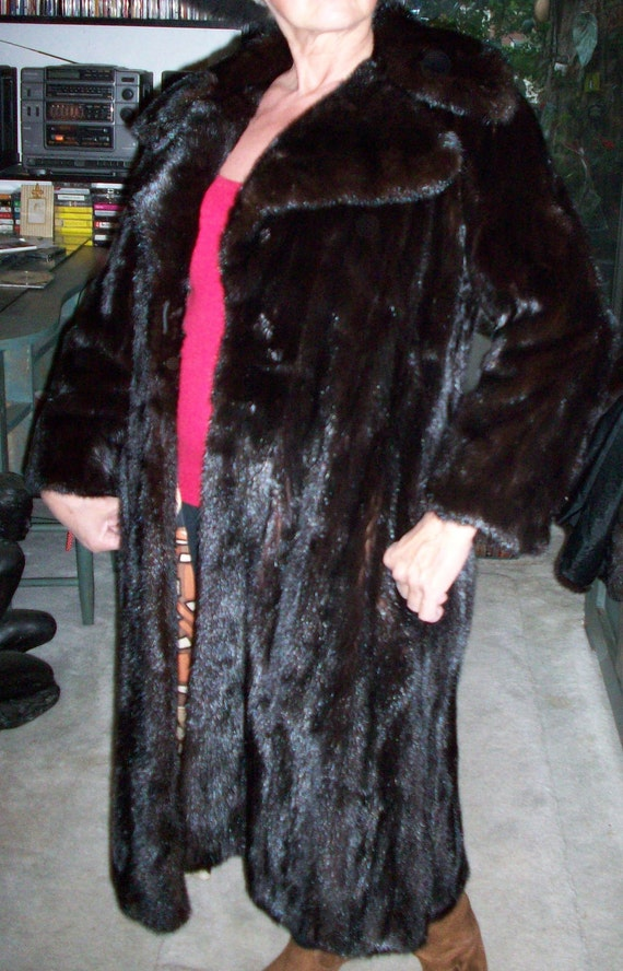 MINK COAT real fur top quality REDUCED - image 1