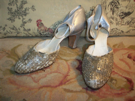 1920's -  1930's FLAPPER style SHOES reduced