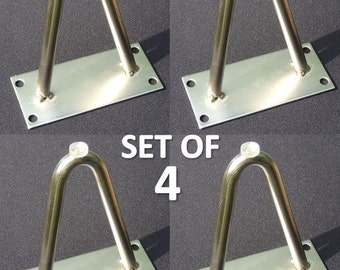 """NEW Set of four (4) Hairpin Furniture Legs 4"""""""