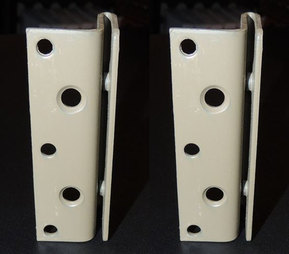 Bed Frame to Bed Post Double Hook Bracket Set of 2