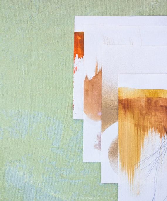 BABY BOOST - Custom Branding Package - Abstract Art + Brand Identity