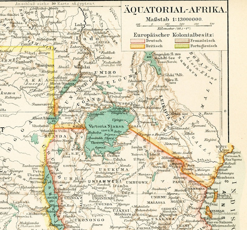 Karte Afrika Kolonien.Aequatorial Afrika Karte Karte Der Kolonien 1890er Meyer S Konversationslexikon 5 Auflage