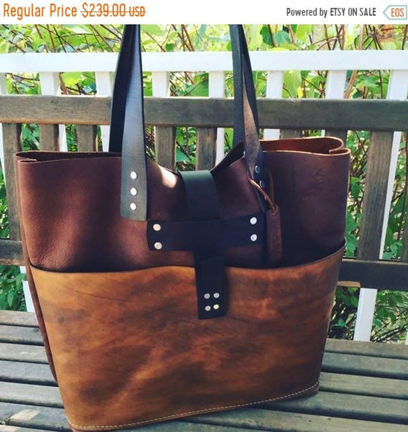 ded6c9fd63a20 Hot Days of June Sale Brown Leather Tote* Large Brown Leather Handbag*  Custom Leather Bags* Soft Brown Leather Bags* Soft Saddle Tote*