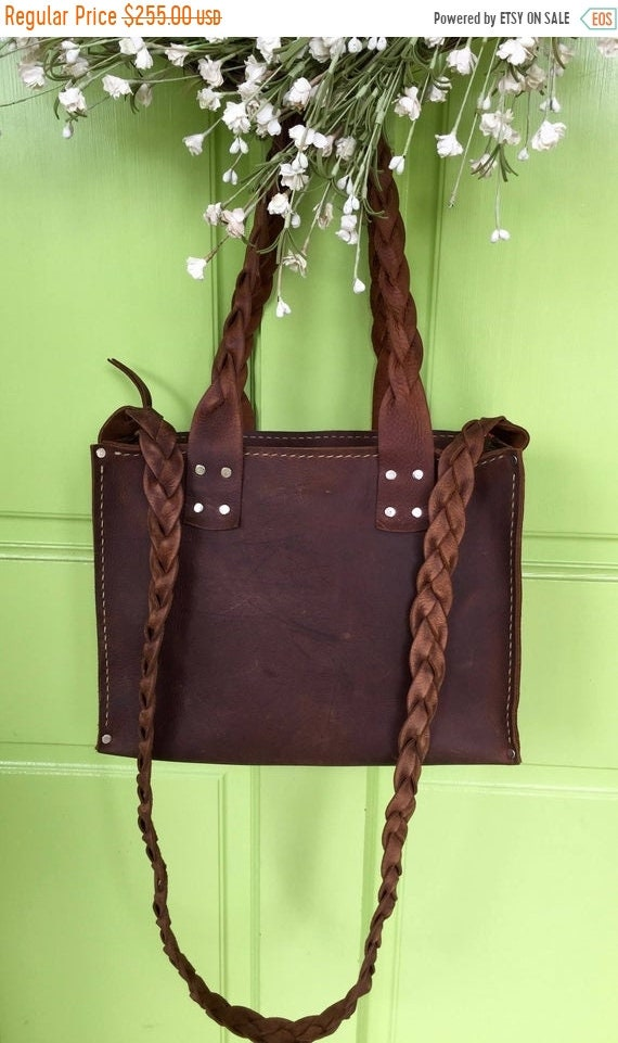 1837006469c95 Hot Days of June Sale Leather Zippered Bag* Leather Laptop Bag* Leather  Handbag* Leather Market Bag* Handmade in the USA