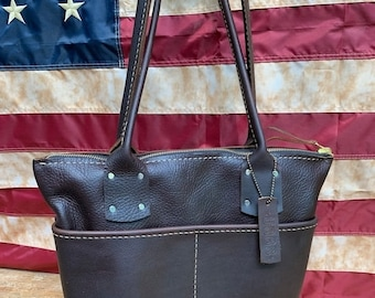 Crisp FALL Sale The Sawyer Leather Handbag* Soft Leather Handbag* Custom Leather Hand Stitched* Made in the USA