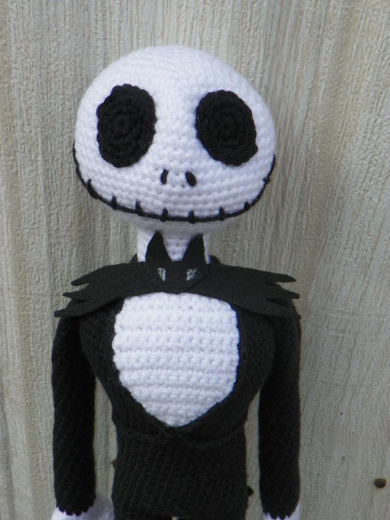 J. Skull Skeleton  PDF crochet pattern image 1