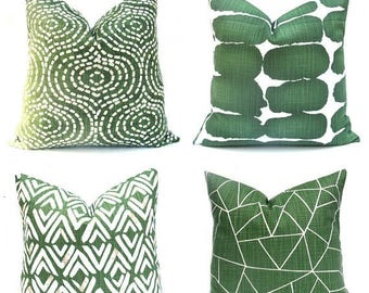 15% Off Sale Green Pillow , Green Pillow Cover, Green Throw Pillow, Decorative Green Pillow , Accent Pillow, Green toss pillow,  Green Cushi