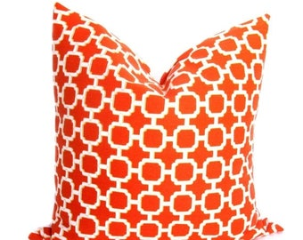 15% Off Sale Pillow covers - Decorative Pillows -  Outdoor Pillows - Orange throw pillow - Orange Pillows - Outdoor Decor - Cushion Covers -