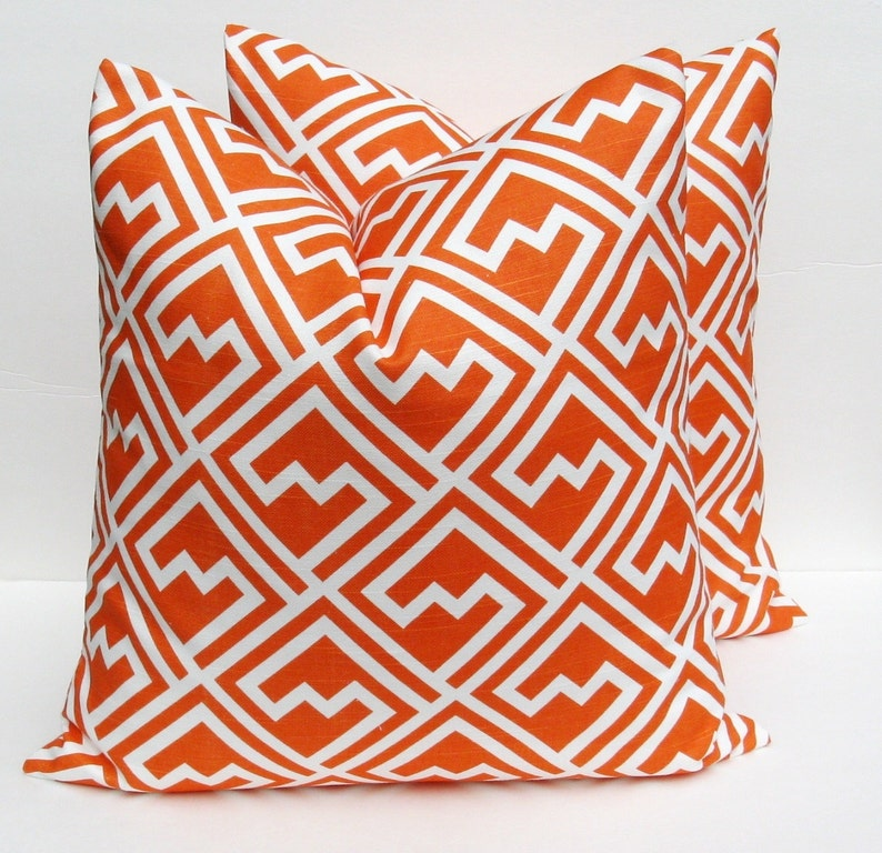 Pillows  Decorative Pillows  TWO 16x16 Throw Pillow covers  image 0