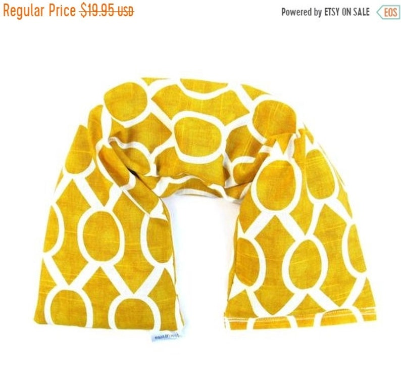 10% Off SALE Heat Pack Neck Warmer Hot cold pack therapy heat image 0