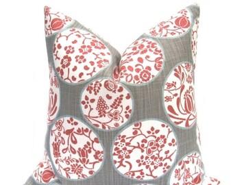 15% Off Sale Pillow Cover, Gray Pillow, Gray Pillow Cover, Euro pillow Cover, Burgundy Pillow, Pillows,  Decorative pillow, Toss Pillow, Eur
