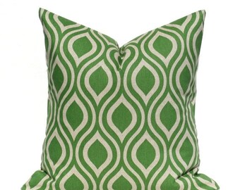 15% Off Sale GREEN PILLOW,Decorative Pillow Cover, Green Tan Pillow, Pillows ,Pillow Covers for couch, throw pillows ,throw pillow covers -