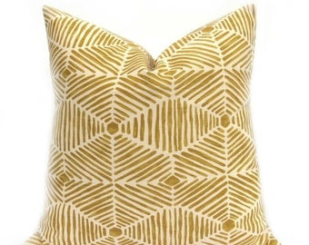 15% Off Sale PILLOW, Yellow Pillow Cover, Decorative Pillow  Yellow Pillow Tribal Pillow - Gold Pillow -  Mustard Yellow - Throw Pillow  Des