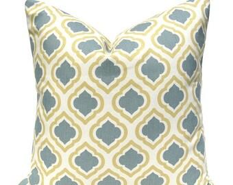 15% Off Sale Yellow Pillow - Yellow Pillow Cover - Yellow Throw Pillow - Decorative Pillow - Pillow cover - Accent Pillow -  Lattice pillow