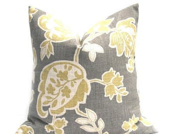 15% Off Sale Gray Pillow ,Gray Pillow Cover, Yellow Pillow, Yellow Pillow Cover, Gray Yellow throw Pillow, Throw Pillow cover, Mustard Yello
