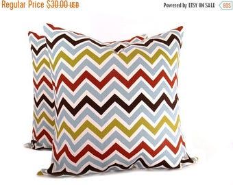 15% Off Sale Pillows Chevron Pillows Accent pillows Toss Pillows 16x16 Pillow Covers Decorator Pillow Cover Throw Pillows Printed Fabric bot
