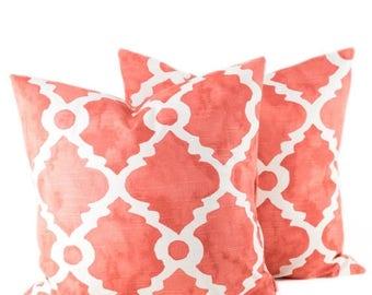 15% Off Sale Decorative Pillows - Throw pillow Covers - orange pillows - Decorative Pillow Covers - Pillows - Cushion Covers -  Throw Pillow