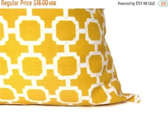 15% Off Sale Yellow Pillow Decorative Pillow covers Outdoor Pillow Indoor outdoor Pillow  Accent Pillows Outdoor Decor cushion Covers Yellow