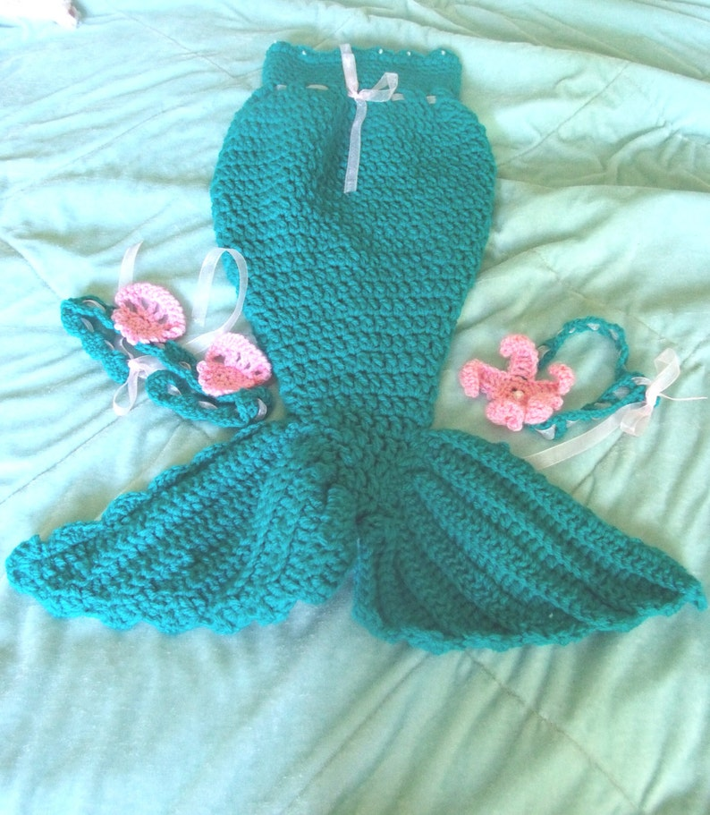 1782f0509eb Baby Girl mermaid set mermaid tail mermaid outfit mermaid