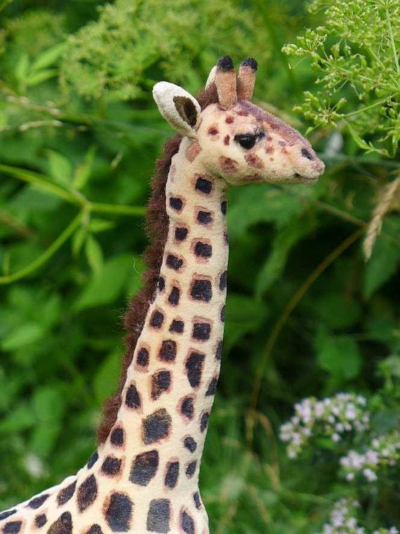 Giraffe selber nähen ebook mit 78 Seiten und Schnittmuster | Etsy