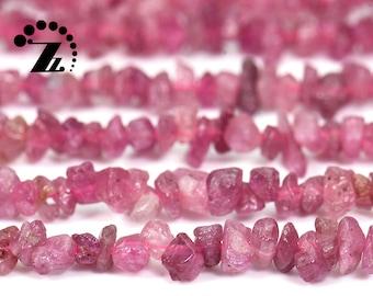 Tourmaline Semi Precious Gemstone Uneven Nuggets Beads 34inch Strand Natural Multi Tourmaline Gemstone Uncut Chips 3mm-5mm Smooth Beads