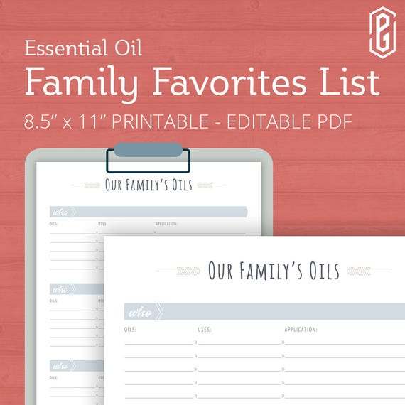 photograph about Printable List of Essential Oils and Their Uses titled Necessary Oil Family members Planner, Printable, Imperative Oil Magazine, EO Planner, Critical Oil Package, Very important Oil Family members, Editable, present for her