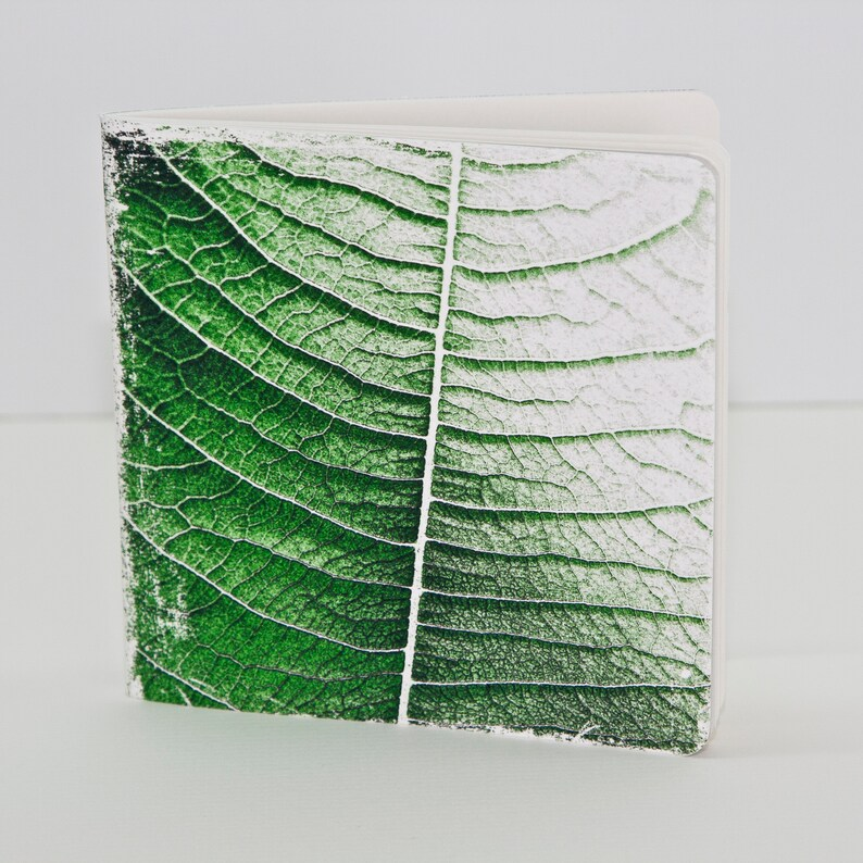 Handmade Notebook Leaf Stationery  Journal  image 0