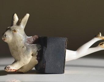 Chloé / Assemblage / A la poursuite du lapin